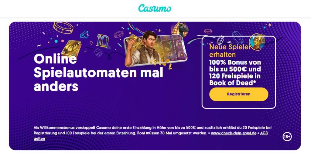 Bonusangebot beim Casumo Casino