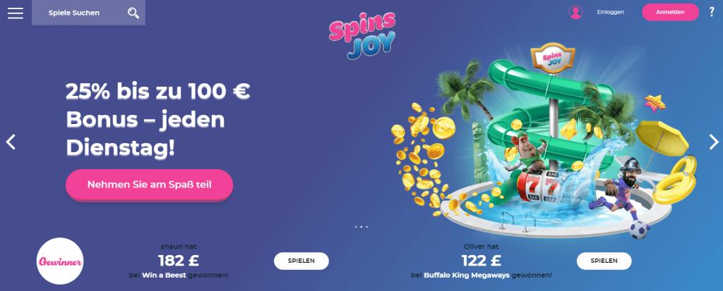 Spins Joy Casino